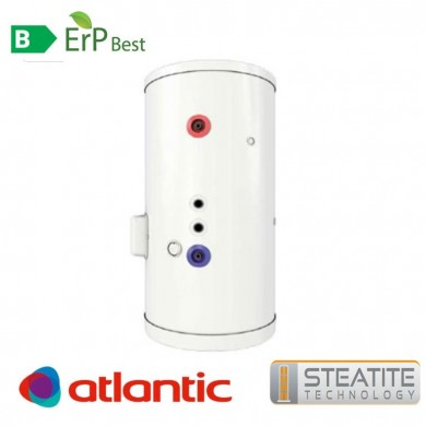 Електрически бойлер със серпентина Atlantic Combi Steatite 300л. за подов монтаж