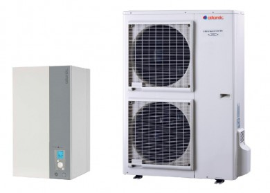 Термопомпа Atlantic ALFEA EXCELLIA A.I. Tri 11 kw - отопление и охлаждане