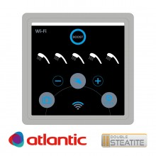 Електрически бойлер Atlantic Vertigo Steatite Wi-Fi 100 Silver , 80л.