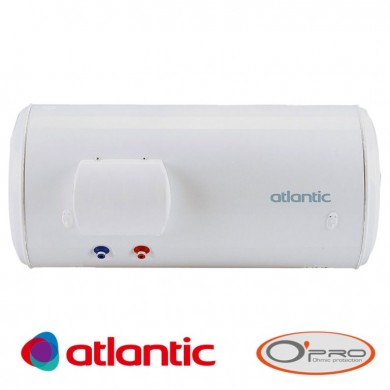 Електрически бойлер със серпентина Atlantic O'Pro Plus 200л. хоризонтален монтаж