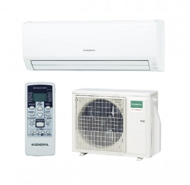 Инверторен стенен климатик  General Fujitsu ASHG18KLCA / AOHG18KLTA серия ЕКО