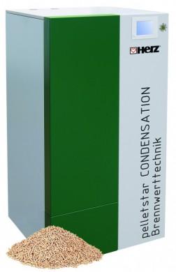 Пелетен котел HERZ Pelletstar Condensation 60kw