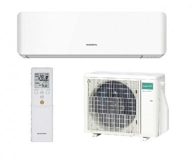Инверторен стенен климатик General Fujitsu ASHG09KMCC / AOHG09KMCC Стандартна серия