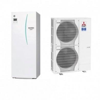 Термопомпа въздух-вода PUHZ-SW120V/YHA/ERST20C-VM2C-с Вграден бойлер 9.6kw