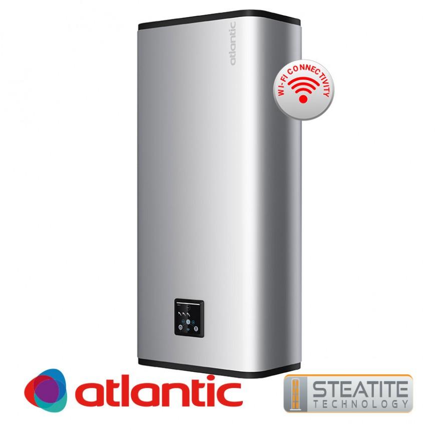 Електрически бойлер Atlantic Vertigo Steatite Wi-Fi 80 Silver , 65л