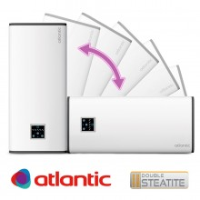 Електрически бойлер Atlantic Vertigo Steatite Wi-Fi 50 Silver , 40л.