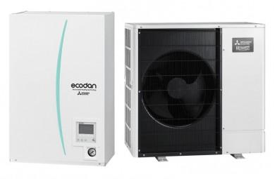 Термопомпа въздух-вода PUHZ-SW100V/ERSC-MEC-отопление и охлаждане 6.8kw