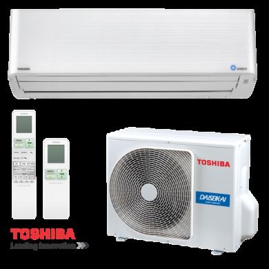Инверторен климатик Toshiba Super Daiseikai 9 RAS-10PKVPG-E / RAS-10PAVPG-E