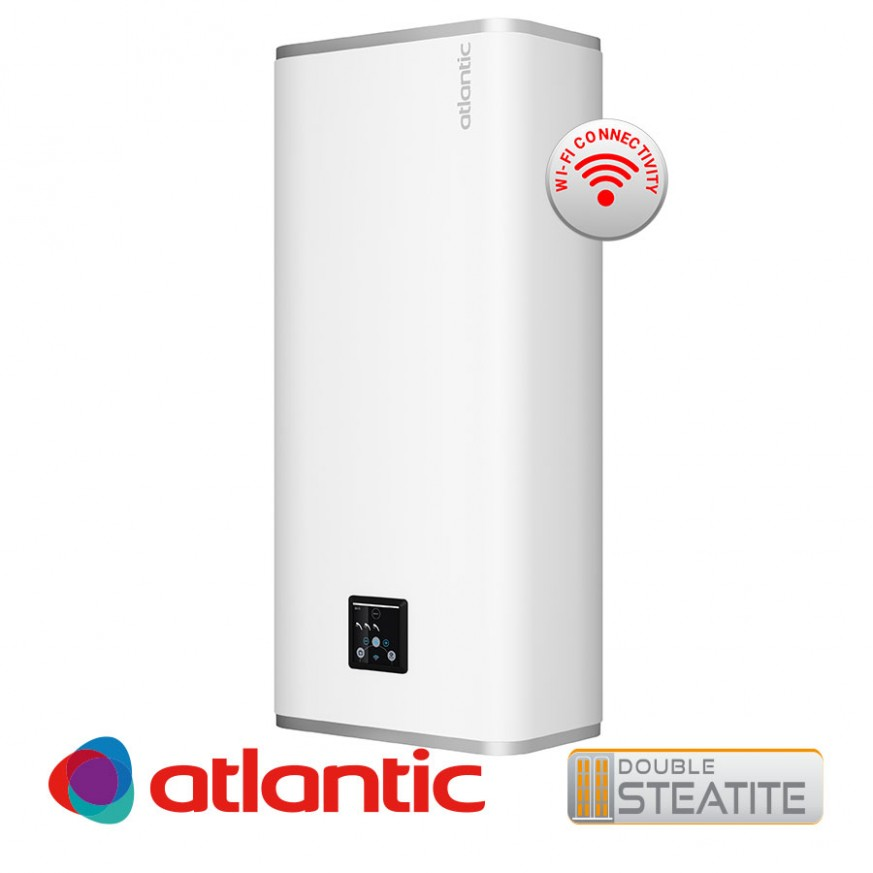 Електрически бойлер Atlantic Vertigo Steatite Wi-Fi 80 , 65л.
